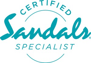 Logo for Certified Sandals Specialist