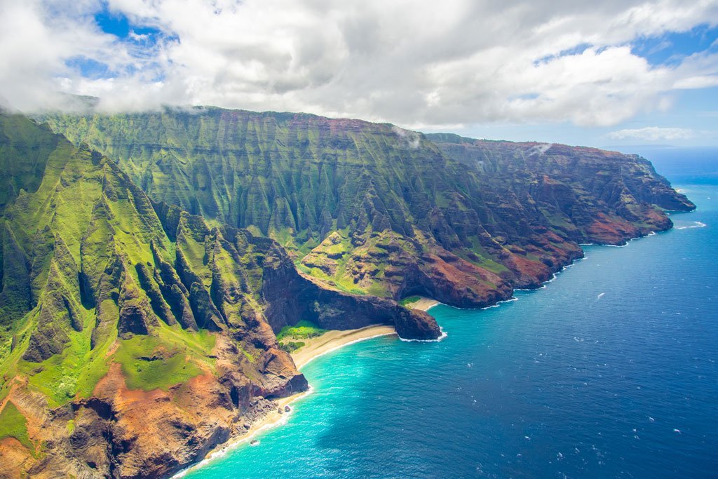 Kauwi - Napali Coast - Hawaii island vacation