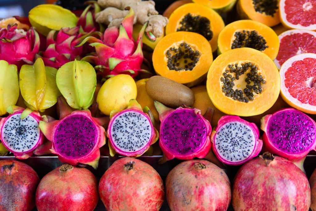 Exotic fruit of Hawaii